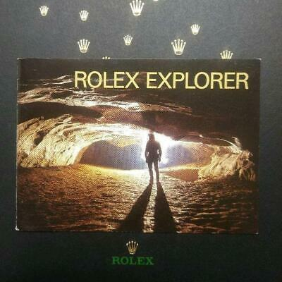 $ CDN143.72 • Buy Rolex Explorer Booklet 2002 114270 16570 # 622