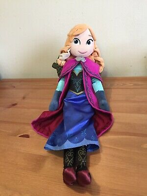 "Disney Store Anna Plush Soft Toy Doll. 20"" • 3£"