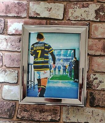 Leeds Rhinos Rob Burrow Tribute Rugby Picture Print • 3.49£