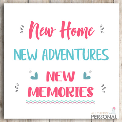 New Home Card Congratulation On Your First Home Card House Warming Moving Card • 2.49£