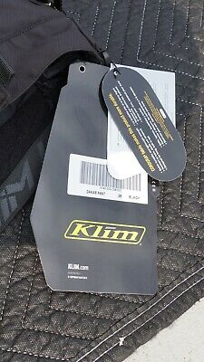 $ CDN198.18 • Buy NEW Klim Dakar Pants 28 Black Motorcycle