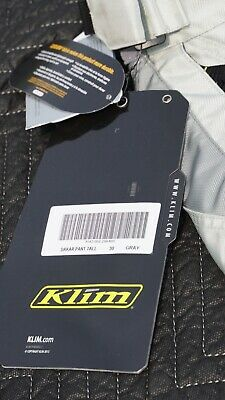 $ CDN198.18 • Buy NEW Klim Dakar Pants 30 Gray Motorcycle