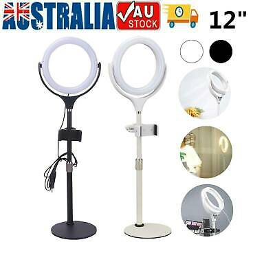 AU20.49 • Buy 12 Selfie LED Ring Light With Tripod Stand For Phone Live Stream Makeup Desktop