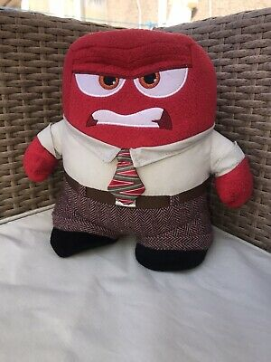 Genuine Disney Store Inside Out Anger Plush Soft Toy Doll Pixar Original L@@K • 1.99£