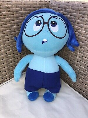 Genuine Disney Store Inside Out Sadness Plush Soft Toy Doll Pixar Original L@@K • 1.99£