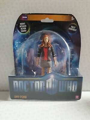 Doctor Who Amy Pond 5  Action Figure Carded New • 24.99£