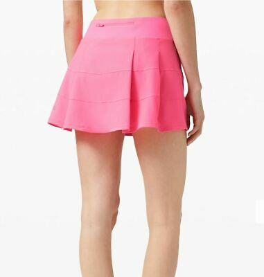 $ CDN124.99 • Buy Lululemon Nwt Pace Rival Skirt Sz 10 Tall Dark Prism Pink Tennis Golf Beach Run