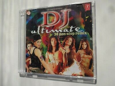 DJ ULTIMATE ~ Bollywood Soundtrack Remix Hindi CD ~ Jayanta Pathak ~ 2004 • 7.95£