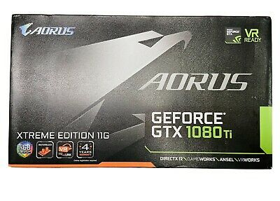 $ CDN733.37 • Buy AORUS XTREME EDITION 11GB GEFORCE GTX 1080TI Waterforce GRAPHICS CARD