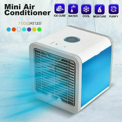 AU20.85 • Buy New Portable USB Rechargeable Mini Fan Cooling Cooler Air Conditioner Desktop AU
