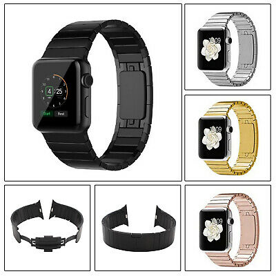 AU12.99 • Buy Butterfly Buckle Apple Watch Band Link Bracelet Steel Strap IWatch Series 54321