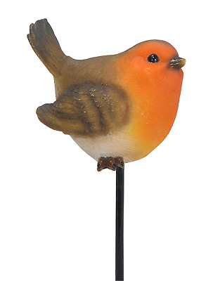£8.78 • Buy Vivid Arts Plant Pal Garden Ornaments - Robin - Resin Outdoor Decorations
