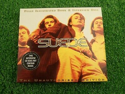 Suede - Fully Illustrated Book & Interview Disc - 1997 CD + Book • 5.89£