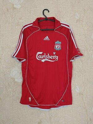 Liverpool 2006 - 2008 Home Football Soccer Shirt Jersey Camiseta Adidas Size M • 42.56£