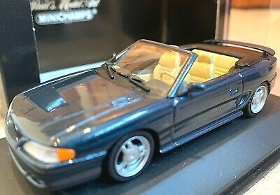 £34.99 • Buy Minichamps Ford Mustang Cabriolet 1994 Blue Metallic 1/43 RARE Car 430085631