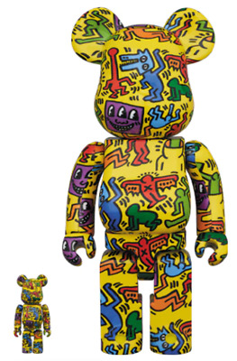 $260 • Buy Bearbrick Keith Haring #5 400% And 100% NIB Medicon On Hand Authentic