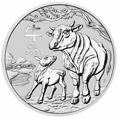 AU1388.53 • Buy 2021 Year Of The Ox 1kg .9999 Silver Bullion Coin – Series III - 1 Kilo - PM