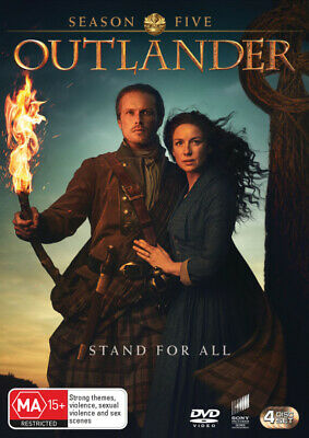 AU49.30 • Buy Outlander: Season 5  - DVD - NEW Region 4, 2