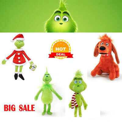 £4.79 • Buy New How The Grinch Stole Christmas Stuffed Plush Doll Toy Grinch Kid Xmas Gifts
