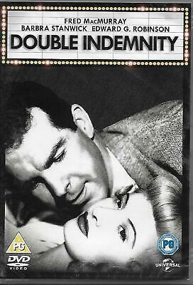 Double Indemnity - 40's Film Noir - Starring Barbra Stanwick, Edward G. Robinson • 4£