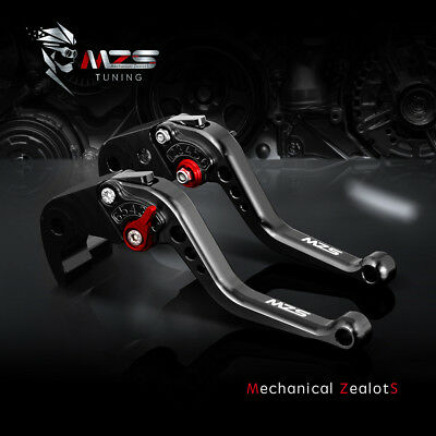 $27.49 • Buy MZS Short Clutch Brake Levers For Suzuki GSXR600 GSXR750 GSXR1000 SV650 GSX650F