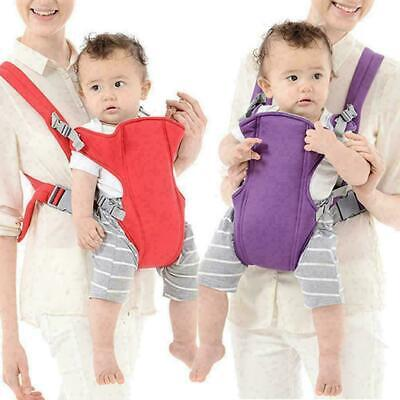Adjustable Infant Baby Carrier Wrap Sling Hip Seat Newborn Backpack Breathable A • 7.99£