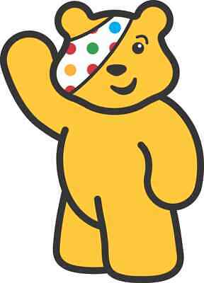 Children In Need  Pudsey 10% Charity Iron On T Shirt Transfer A5 • 2.50£