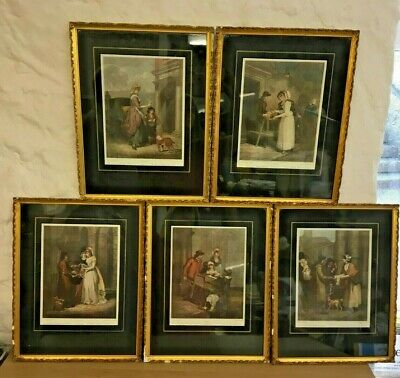 Set Of 5  Cries Of London  Prints Francis Wheatley RA • 65£