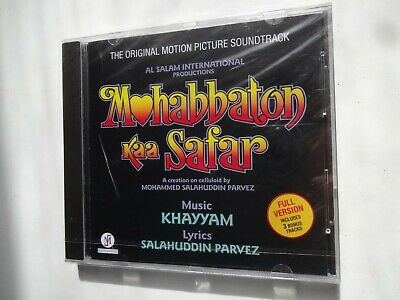 MOHABBATON KAA SAFAR ~ Bollywood Soundtrack Hindi CD ~ Khayyam ~ 1993 • 14.95£