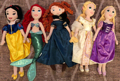Disney Princess Plush Soft Dolls • 9.99£