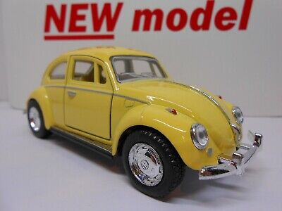 Toy Car Vw Beetle Retro Model Boy Girl Dad Mom Birthday Present Gift New! • 8.95£