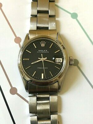 $ CDN1199.56 • Buy Vintage Rolex Precision Midsize Men's Watch, Nice Orig Dial And Bracelet Re 6466