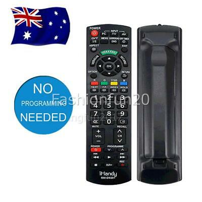 AU15.95 • Buy Model N2QAYB000352 Replaced Remote Sub N2QAYB000496 For Panasonic TV RM-D920+ AU