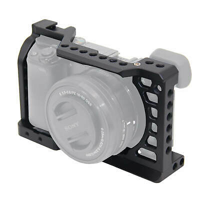 $ CDN35.02 • Buy Sony A6000 A6100 A6300 A6400 A6500 Camera Video Cage Stabilizer W/ 1/4 3/8 Holes