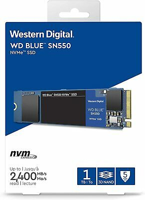 AU145 • Buy WD Blue SN550 1TB M.2 PCIe NVMe SSD Internal Solid State Drive 2400MB/s