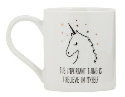 AU24 • Buy Unicorn Coffee Mug - The Important Thing Is I Believe In Myself - New In Box