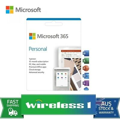 AU99 • Buy Microsoft QQ2-00982 Office 365 Personal 1 Year Subscription
