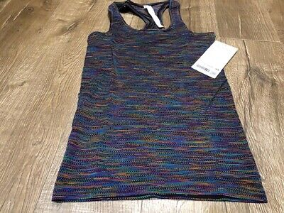 $ CDN40 • Buy Lululemon Rainbow Pride Run Swiftly Tank Size 4 NWT