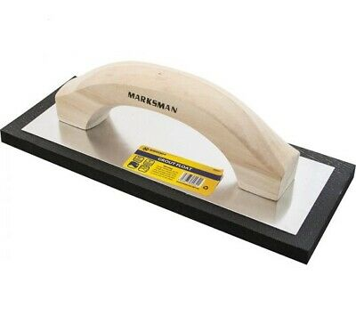 9  Marksman Lightweight  Wall Ceramic Tiles Grout Float With Wooden Handle • 5.95£