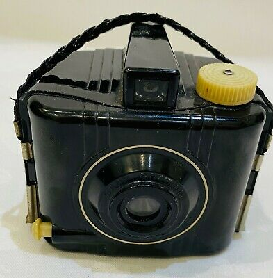 Art Deco KODAK BABY BROWNIE SPECIAL - Old Vintage Box Camera - C1930's • 5£