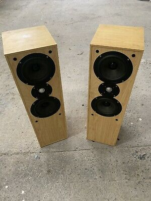 Acoustic Solutions Floor Standing Speakers Model No: M100 120w, 4 OHMs • 82£
