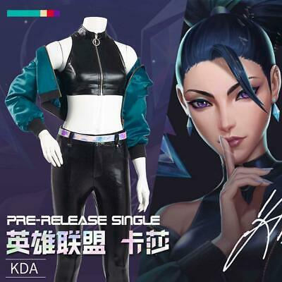 $ CDN60.63 • Buy LOL League Of Legends KDA Kaisa Outfit  Cosplay Costume  Women