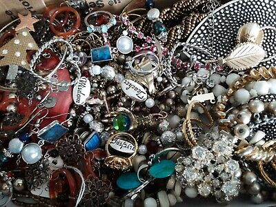 $ CDN40.86 • Buy #3 Vintage To Now Estate Find Jewelry Lot Junk Drawer Unsearched Untested Wear