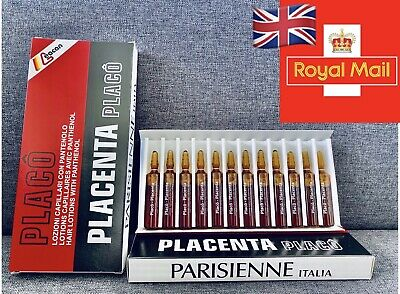 PLACENTA PLACO FOR HAIR INTENSIVE TREATMENT AMPOULES AGAINST HAIR LOSS 12X10ml • 8.90£