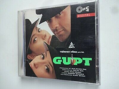 GUPT ~ Bollywood Soundtrack Hindi CD ~ Viju Shah ~ 1997 • 14.95£
