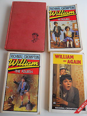 Richmal Crompton, William X 4 - In Trouble, The Fourth, Again, Bad Resolution • 1£