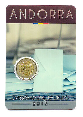 $ CDN4.28 • Buy €2 Euro Coin 2015 Andorra 30 Years Of Political Rights # 610 Auction From 1$