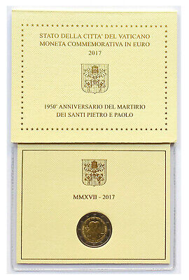 $ CDN8.57 • Buy €2 Euro Coin 2017 Vatican City Franciscus Saint Peter And Saint Paul From 1$