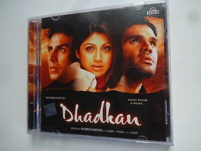 DHADKAN ~ Bollywood Soundtrack Hindi CD ~ Nadeem Shravan ~ 2000 • 4.95£