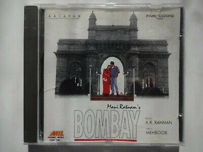 BOMBAY ~ Bollywood Soundtrack Hindi CD ~ A R Rahman ~ 1994 • 14.95£